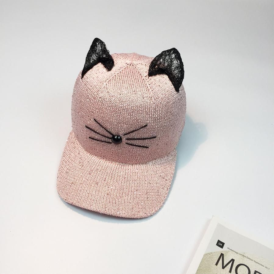 How cute are these cat ear caps! They are ideal for any outdoor activities f549eb8ac3db