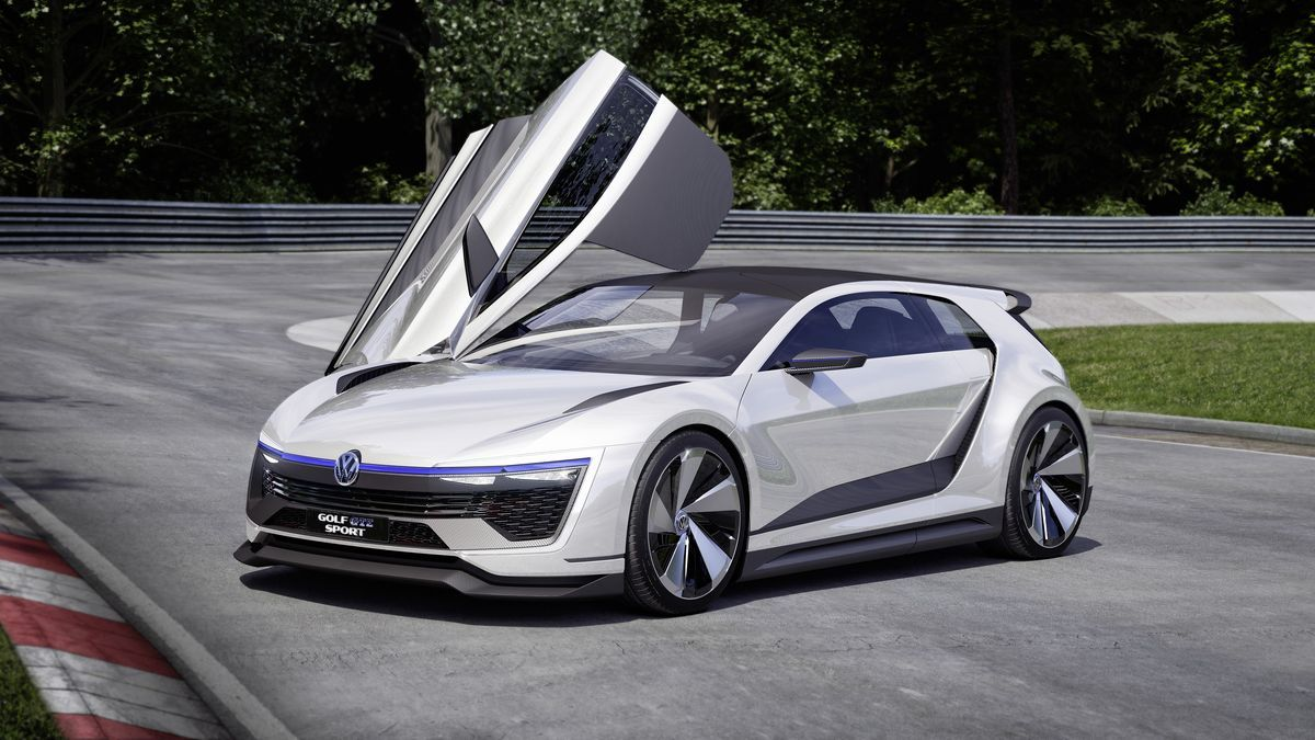 Volkswagen's new Golf concept has gullwing doors and 395 horsepower: http://theverge.com/e/8371902?utm_campaign=theverge&utm_content=feature&utm_medium=social&utm_source=pinterest