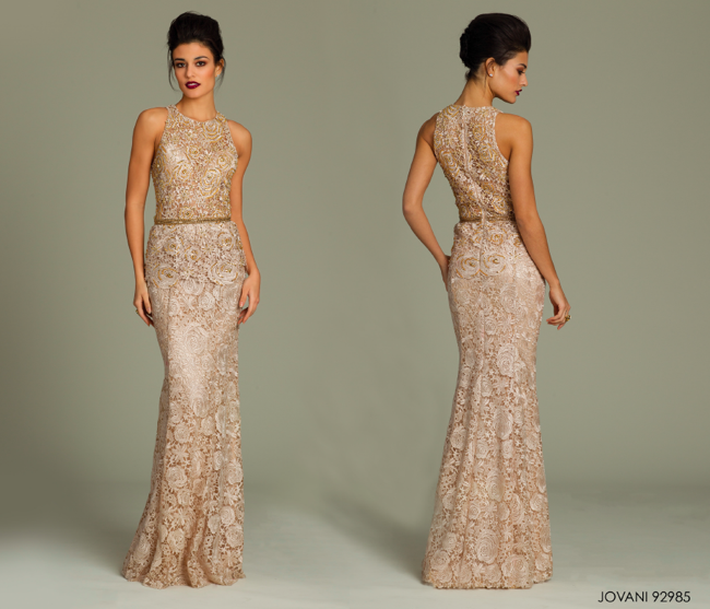 Bridesmaid And Reception Dresses By Jovani 2014 Reception Dress