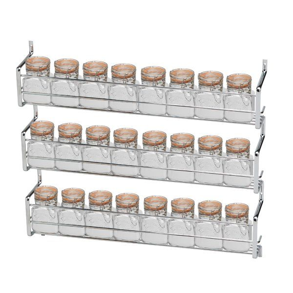 You Ll Love The Metro Kilner 3 Tier 24 Jar Wall Mounted Spice Rack