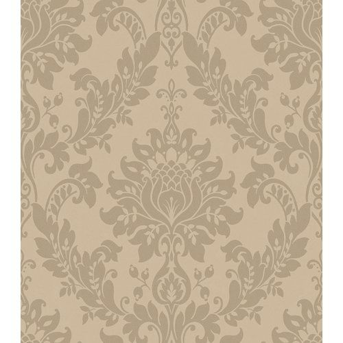 ARS26037 ELSA BLACKBERRY ORNATE DAMASK BY BREWSTER Wallpaper FREE SHIPPING