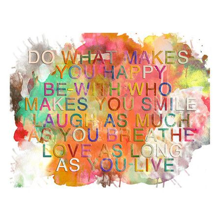 Colorful Quote Wall Art