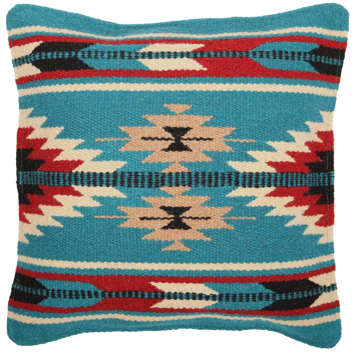 Throw Pillows Next : Throw Pillow Covers 18 X 18, Hand Woven Wool in Southwest, Mexican, and Native American Styles ...