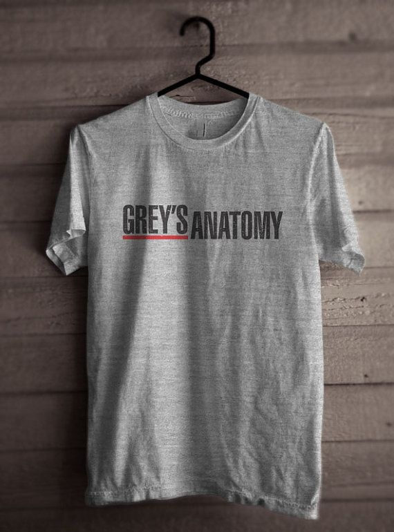Greys Anatomy Men Tshirt tee Short sleeve by PalmTreeProduction ...