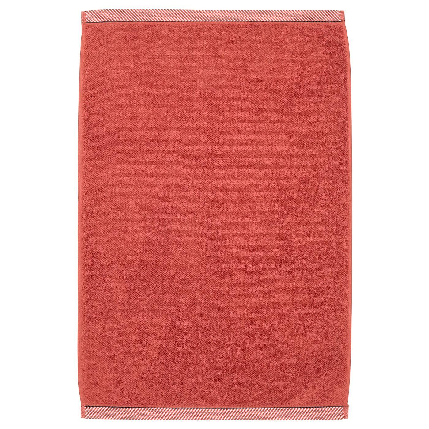 Vikfjard Tapis De Bain Rouge 50x80 Cm In 2020 Handdoeken Ikea En Vloerverwarming