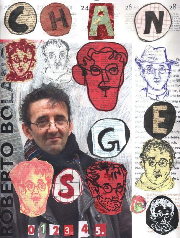 伟���-�(�y.$�ce�n�_IdeadeDioramaenRobertoBolaño|Robertobolaño,Escritores,Ilustraciones