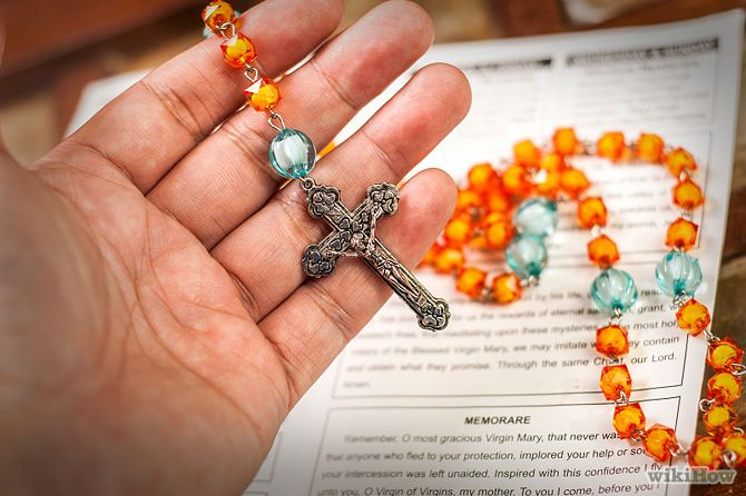 How to Pray the Rosary, step by step