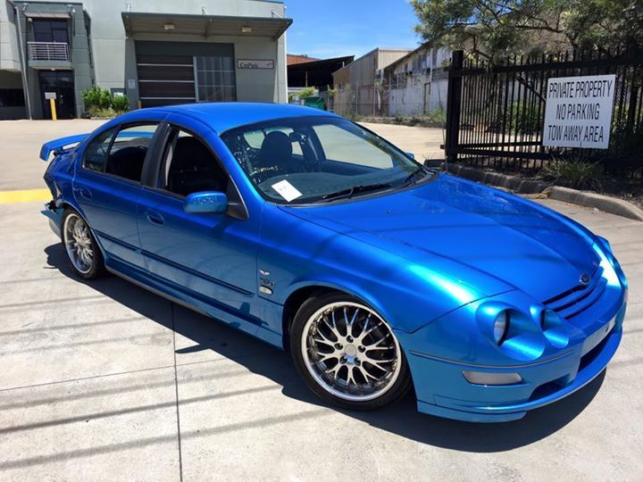 Wrecking Ford Au Series 3 Xr8 220kw 4sp Auto Ford Bmw Bmw Car