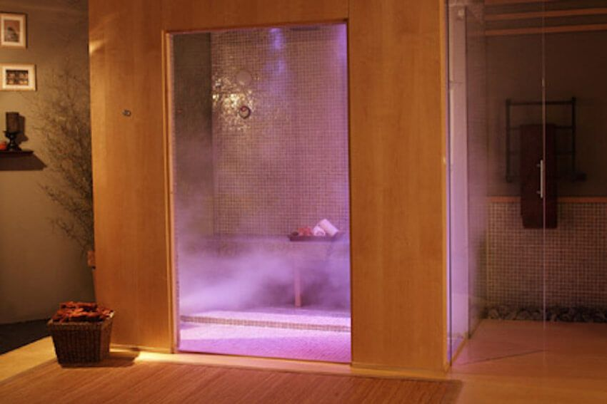 10 Of The Coolest Showers Ever Steam Room Home Steam Room