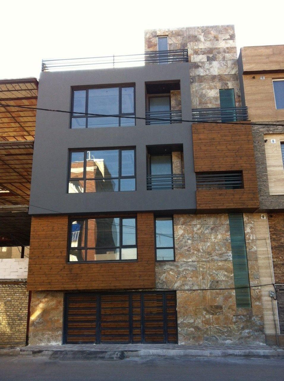 Modern 3 Story Buildings
