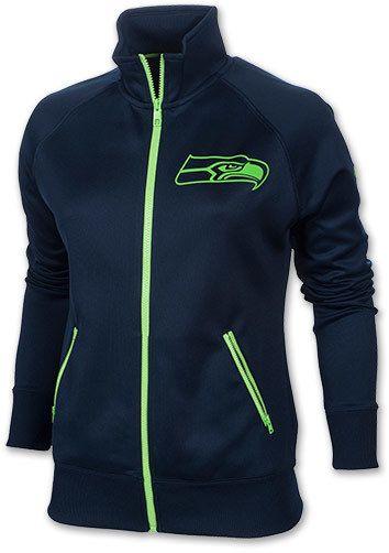 quality design cd133 89ebf Nike Women's Seattle Seahawks NFL MVP Track Jacket on ...