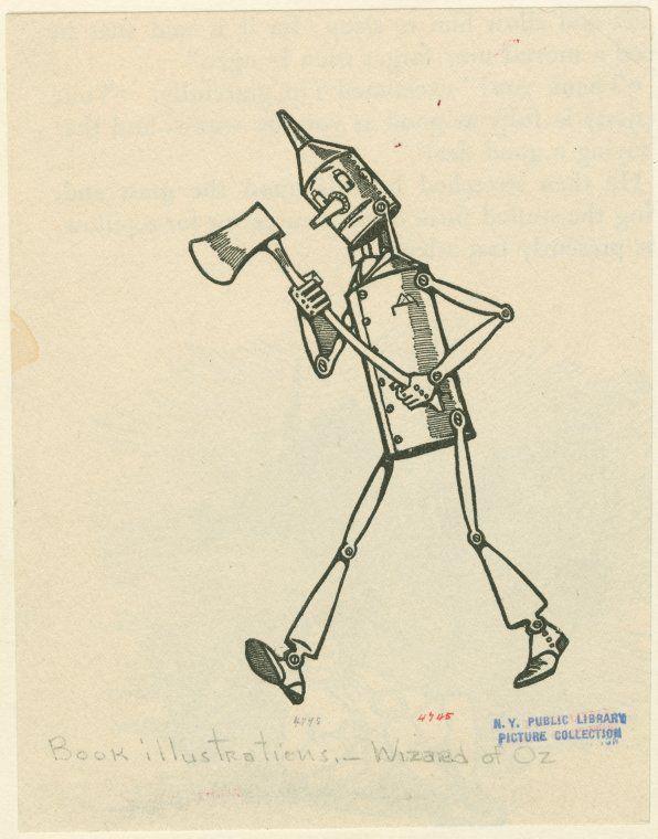 Tin Man Tin Man Man Character Design
