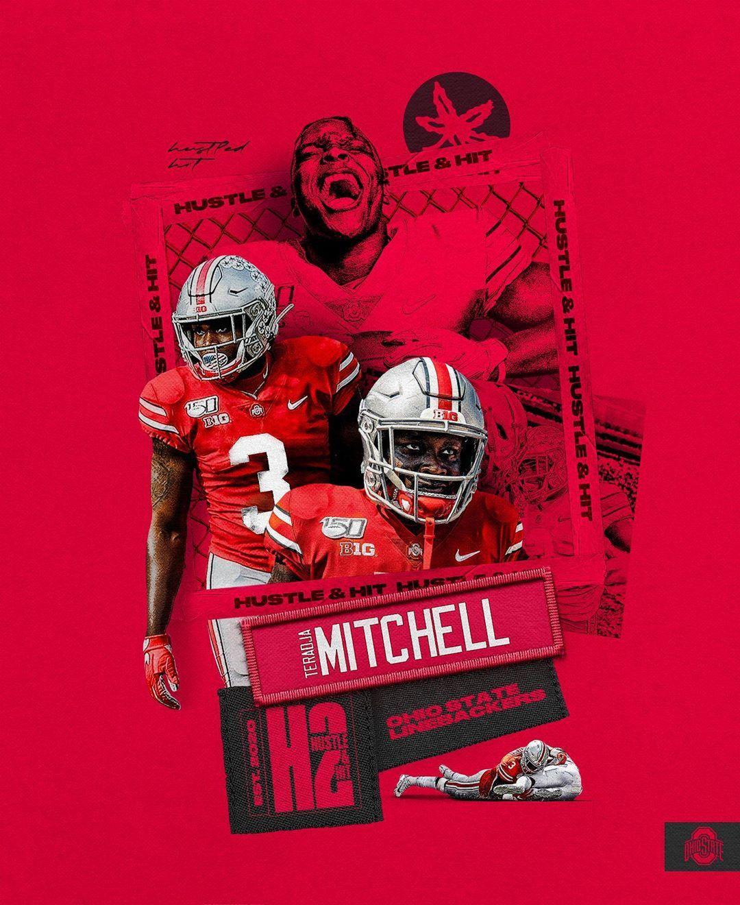 "Ohio State Football's Instagram profile post ""teeraaw_ x"