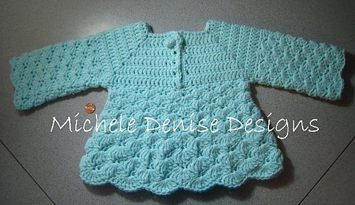 Warm Shells Baby Pullover = this would make a cute set with a pair of matching pants or make a little longer and add a diaper cover