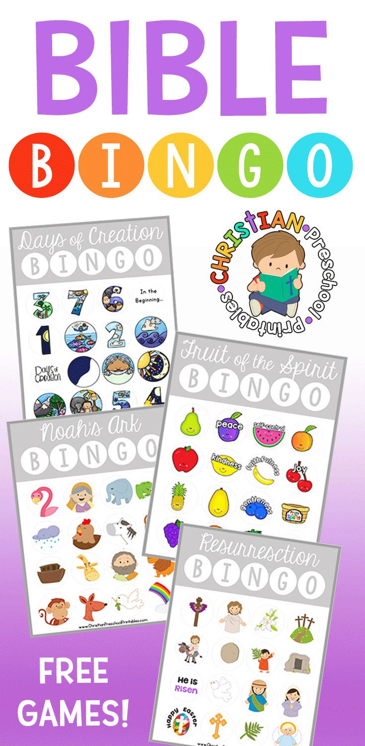 Abc Creation pour free bible bingo games and printables from christian preschool