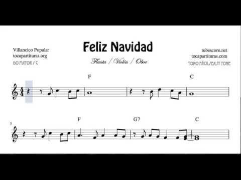 I Wanna Wish You A Merry Christmas Easy Sheet Music For Violin Flute And Oboe Feliz Navidad Sheet Music Christmas Sheet Music Easy Sheet Music