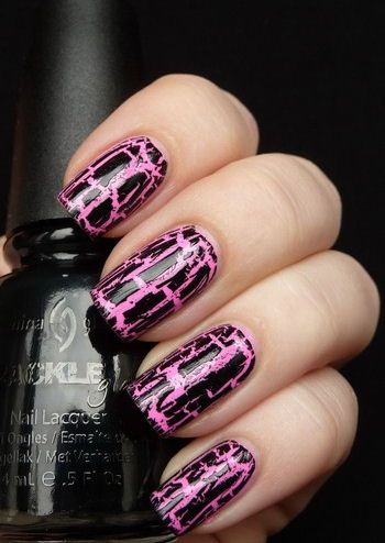 10 Crackle Nail Polish Design Ideas Nails Pinterest Crackle