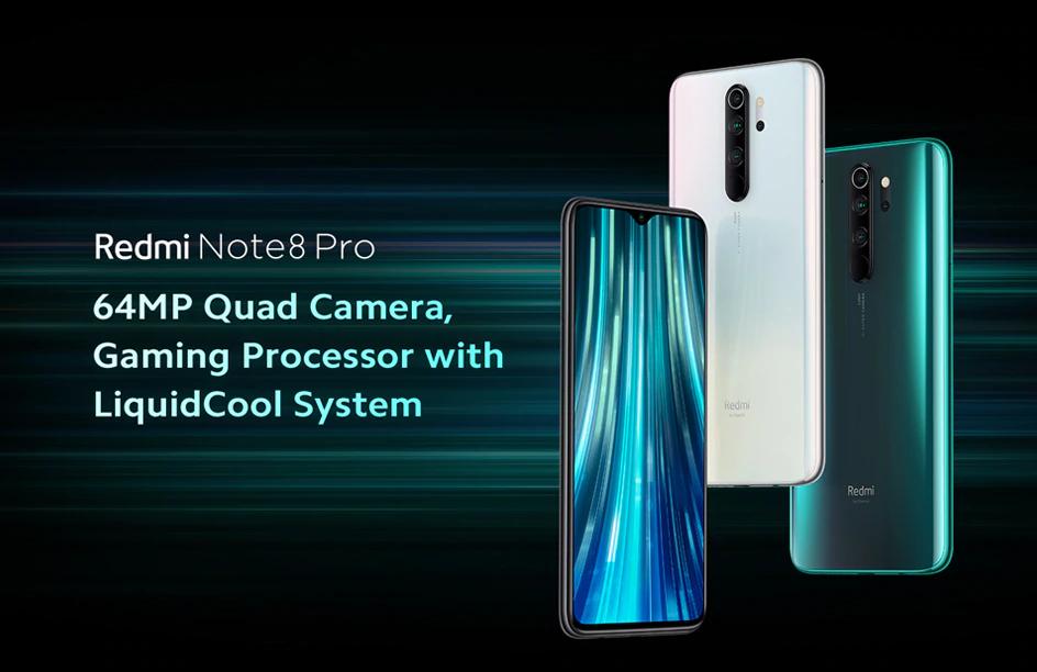 Xiaomi Redmi Note 8 Pro Green 6gb 64gb Xiaomi Dubai