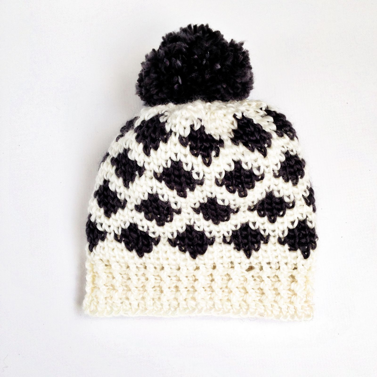 Modern Ikat Hat By Sierra Tosner - Free Crochet Pattern - Adult And ...