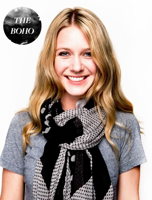 How to Wear a Scarf: The Boho & other great styles