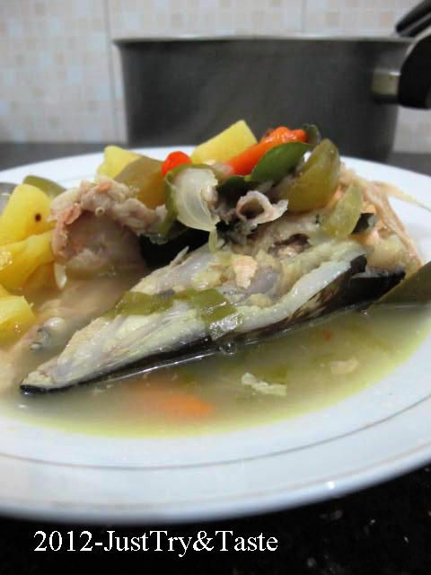 Resep Sup Pedas Kepala Salmon Bagian Terlezat Salmon Ada Di Kepalanya Makanan Resep Sup Resep Masakan Cina