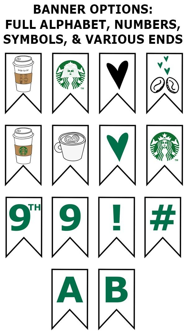 graphic regarding Starbucks Printable Application referred to as Cost-free Starbucks Bridal Shower Printable Bash Pack Totally free