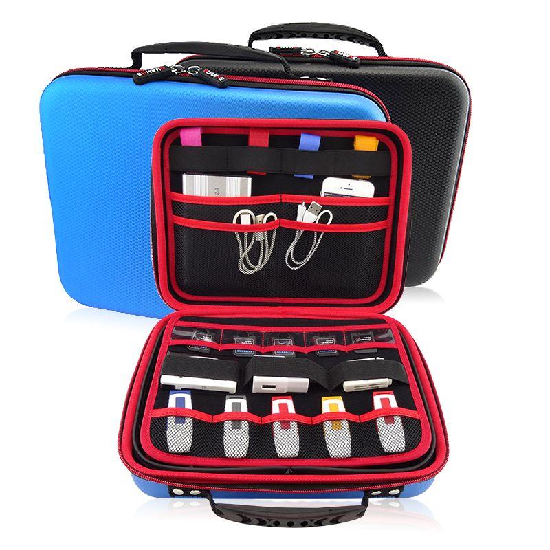 USB Flash Drive Case GUANHE Universial Portable Waterproof Hard Case