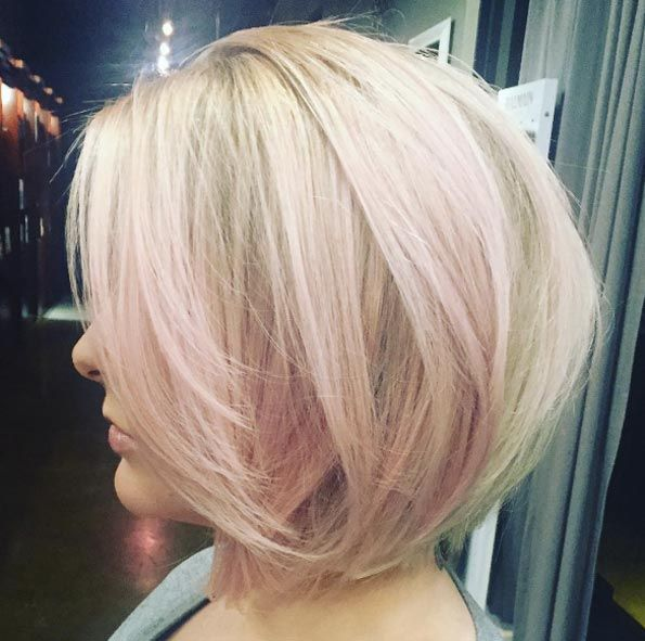 40 Colored Hairstyles For Short Hair We Love Pink Highlights