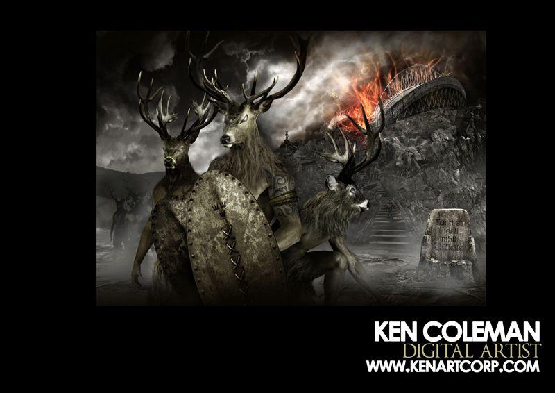 Original Digital Artwork by Ken Coleman Artwork, The