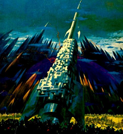 Interstellar Empire Cover Art by Paul Lehr