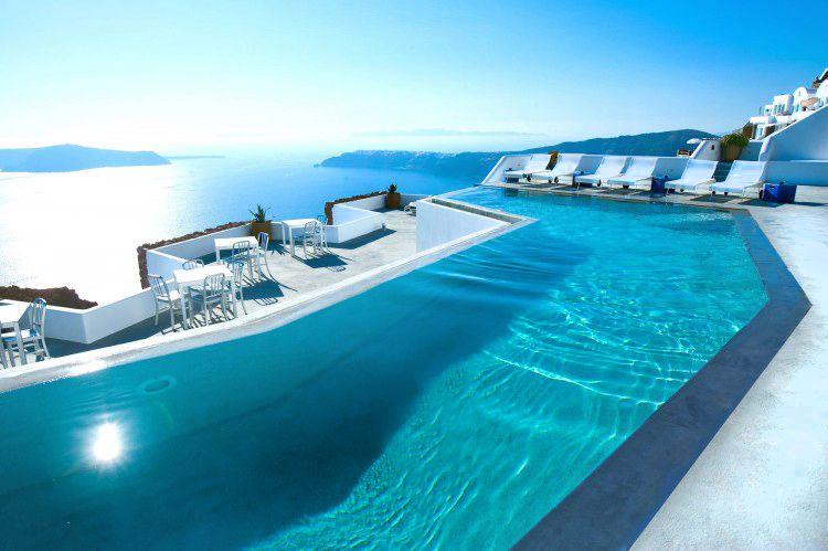 Absolut Blue...  Santorini, Greece