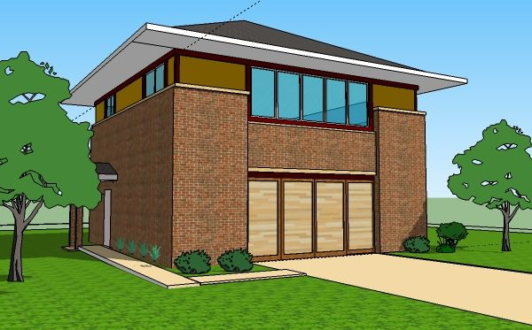 Single Floor 1 Story House Plans 3 Bedroom Home Designs Front Dream House Sketch Small