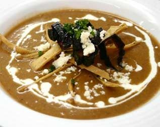 Sopa Tarasca. Receta de Cocina Mexicana.