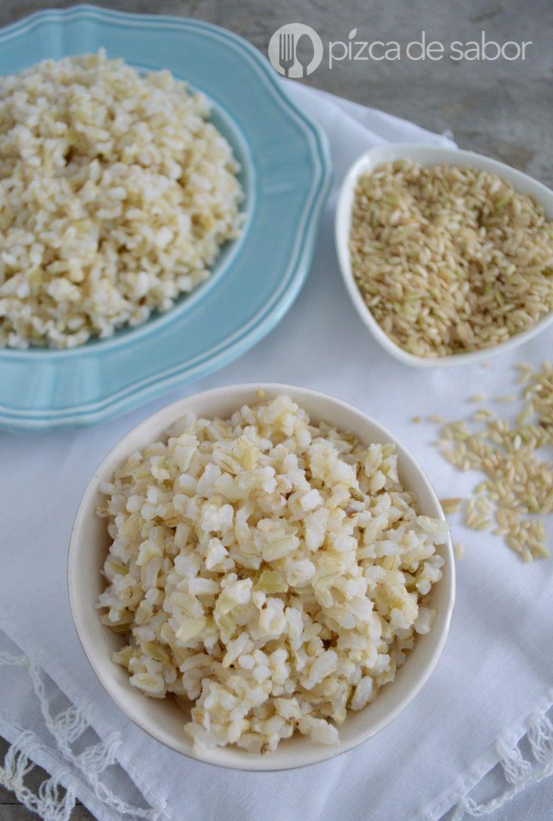 Cómo cocinar arroz integral | Receta | Arroz integral, Recetas ...