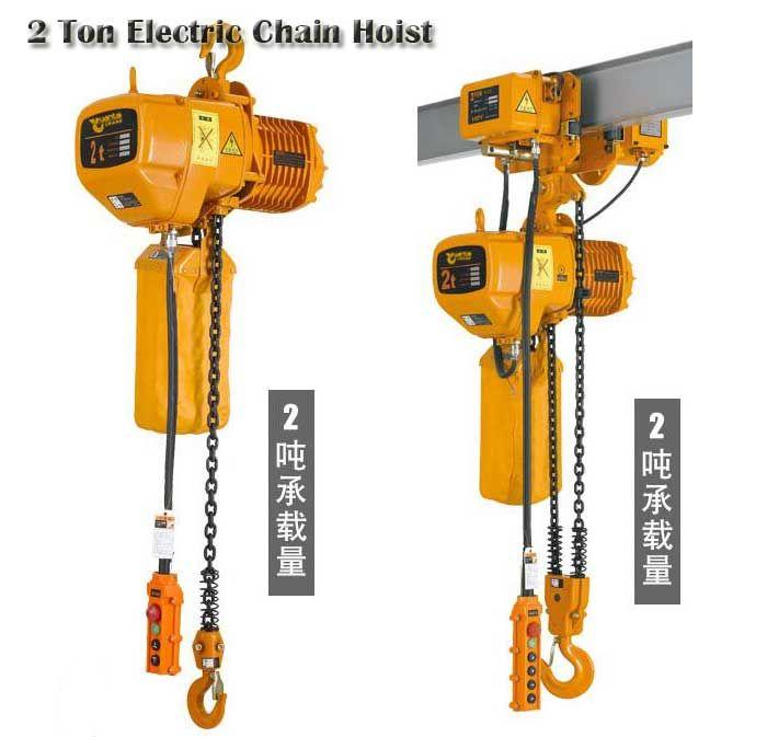 Pin by Dongqi Crane on 2 Ton Hoist | Gantry crane, Wire, Chain