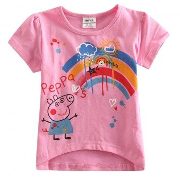 Camiseta da Peppa Pig Meninas