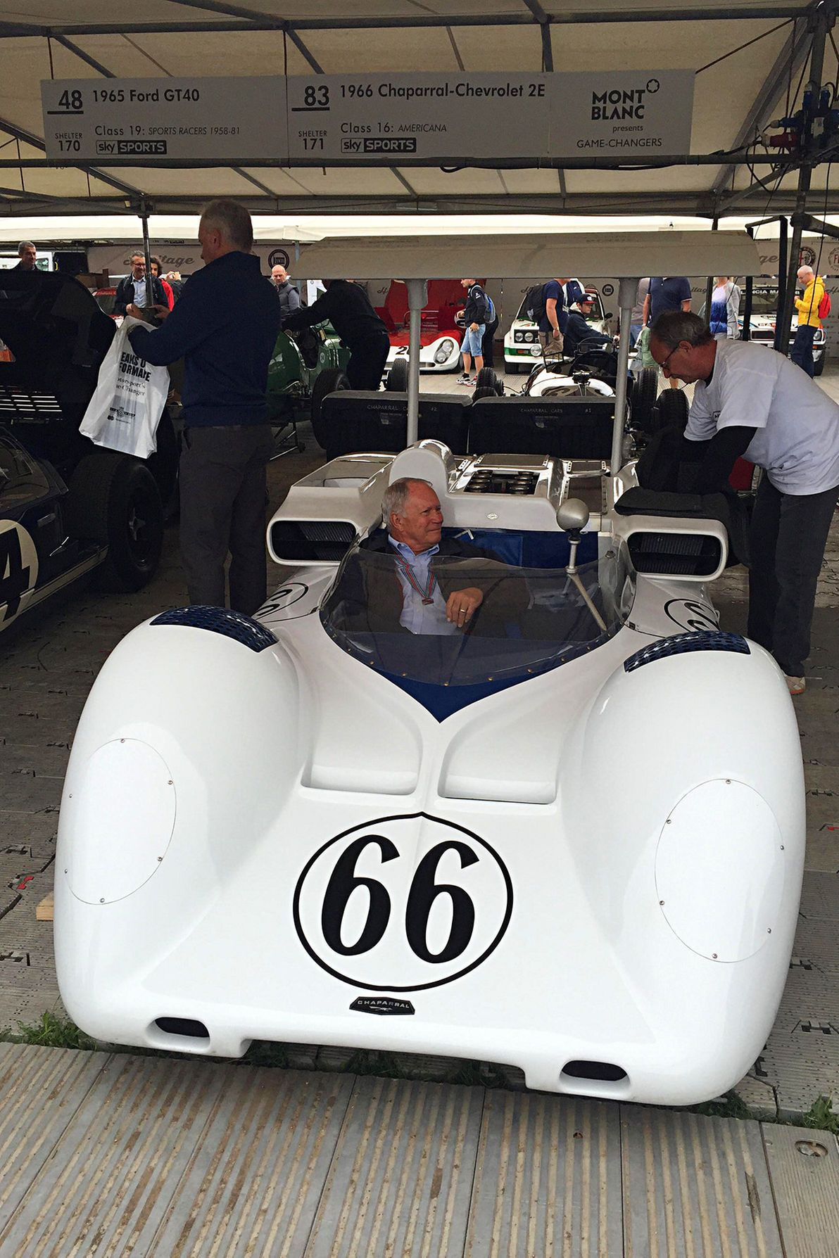 Besides the hill climb, Goodwood hosts the Revival on the old ...