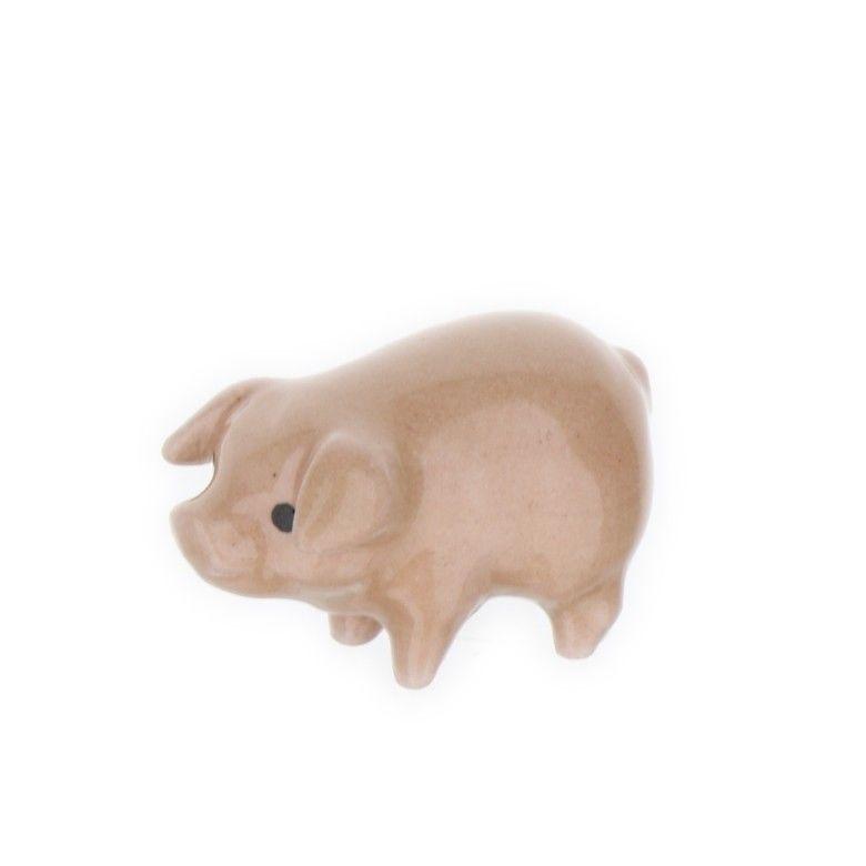 Pink Brother Pig Miniature Figurine Farm Animal Model Usa Made By Hagen Renaker Hagenrenaker