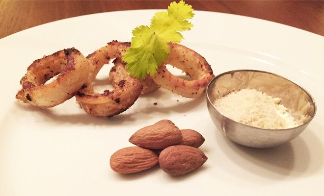 Almond Calamari - Fitgirlcode - Community for fit and healthy women. Unlocking your personal code to a healthy lifestyle.