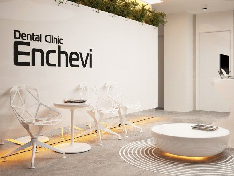 Organic Architecture Characteristics In This Dental Clinic Interior Concept