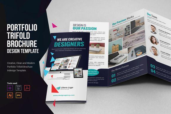 portfolio trifold brochure design pinterest brochures brochure