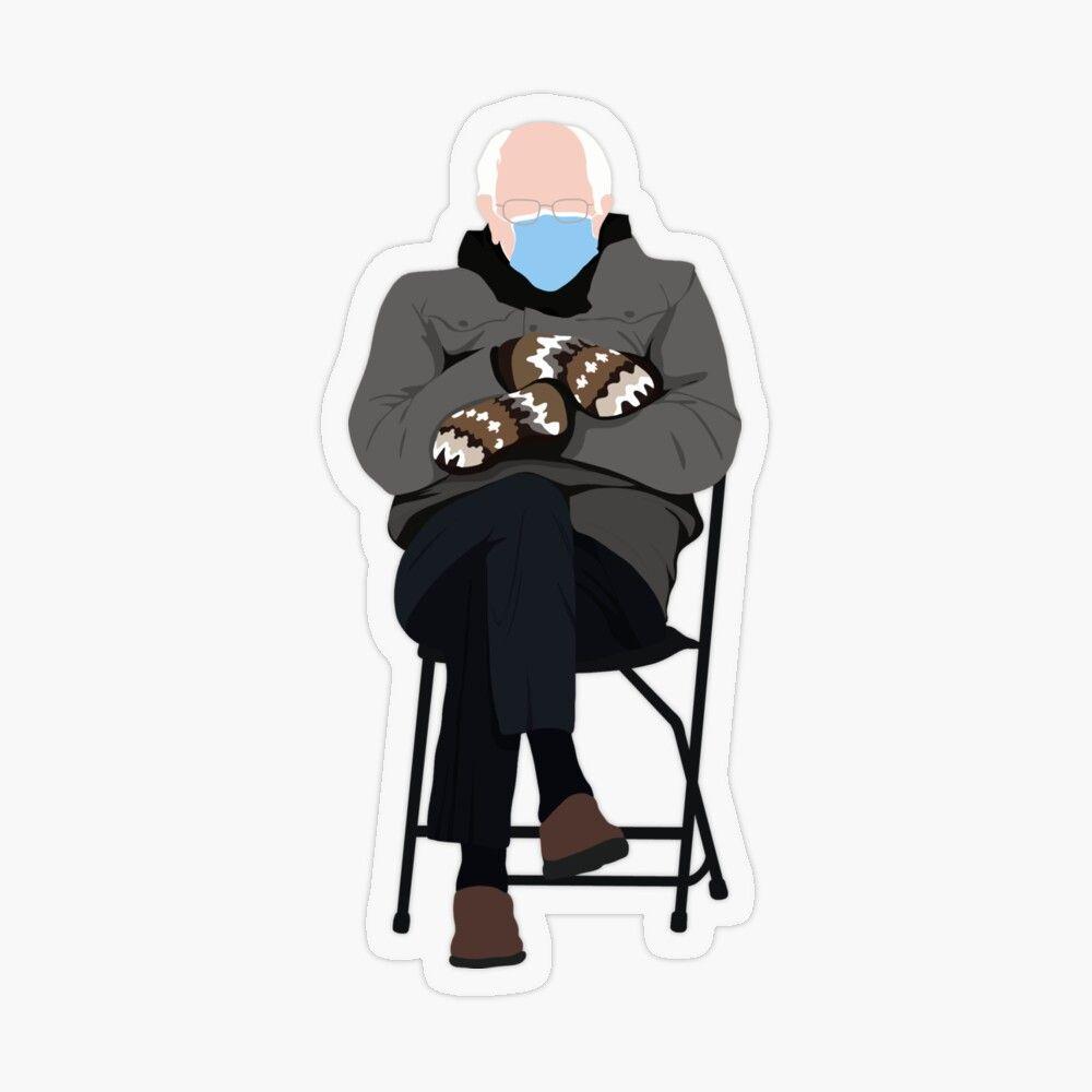 Limited Bernie Sanders Mittens Sitting Inauguration Meme V Neck T Shirt In 2021 Graphic Tee Shirts Boyfriend T Shirt Cool Tees