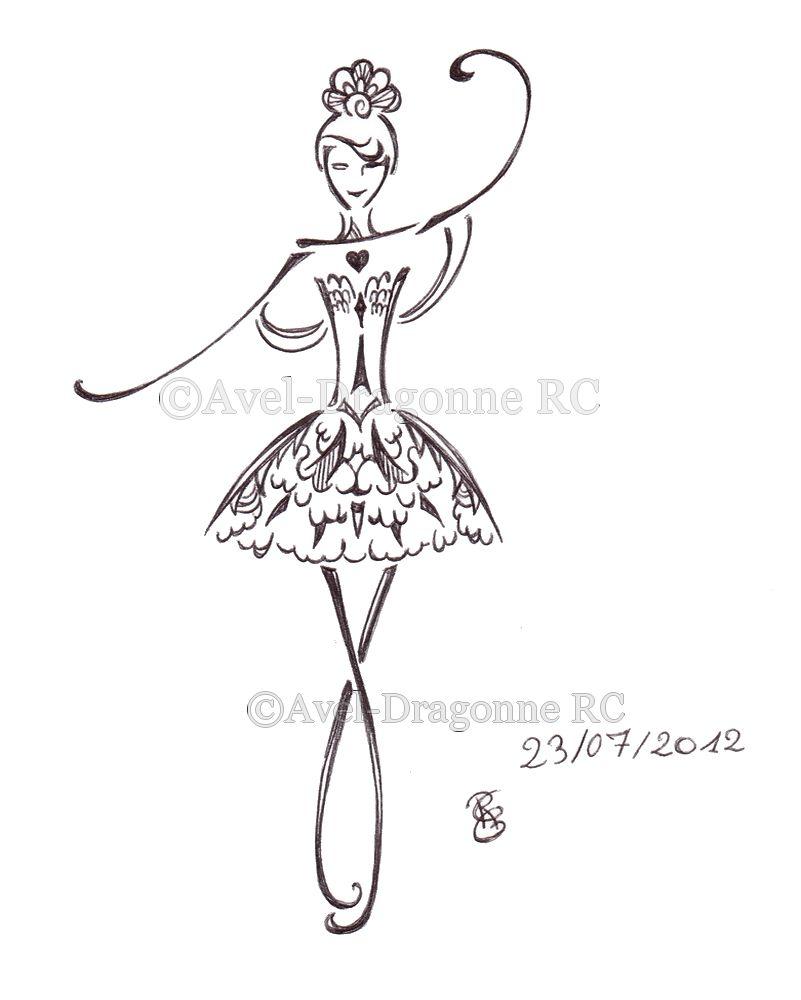 Comment Dessiner Une Danseuse Etoile Dessin Dessin Danseuse Silhouettes De Ballerines