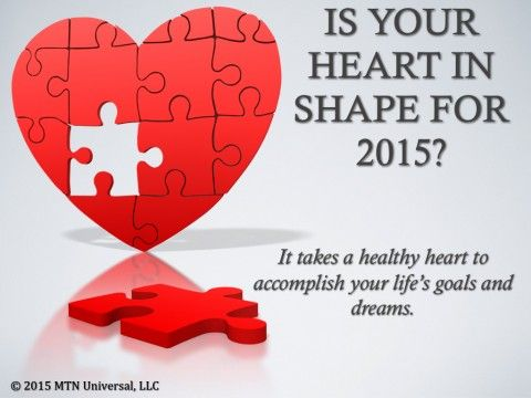 Is Your Heart in Shape for 2015?