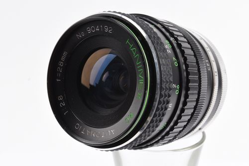 Hanimex Mc Automatic 28mm F2 8 Wide Angle Lens For Canon Fd Mount Camera Caps Wide Angle Lens Cinematography Tips Cinematography