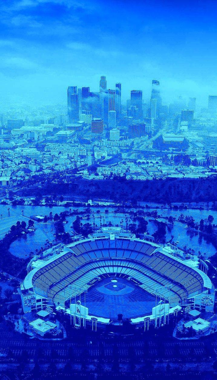 Los Angeles Dodgers iphone wallpaper in 2020 Los angeles