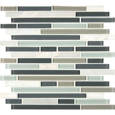 This would be a great tile for an accent wall in a powder room. MSI ...