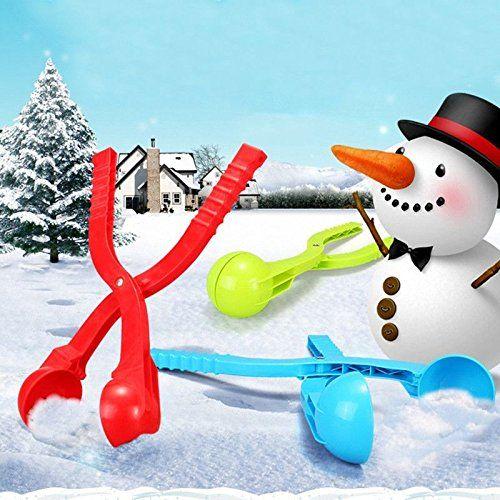 Snowballs Maker Clip Kids Outdoor Sport Winter Snow Ball Sand Mold Making Tools