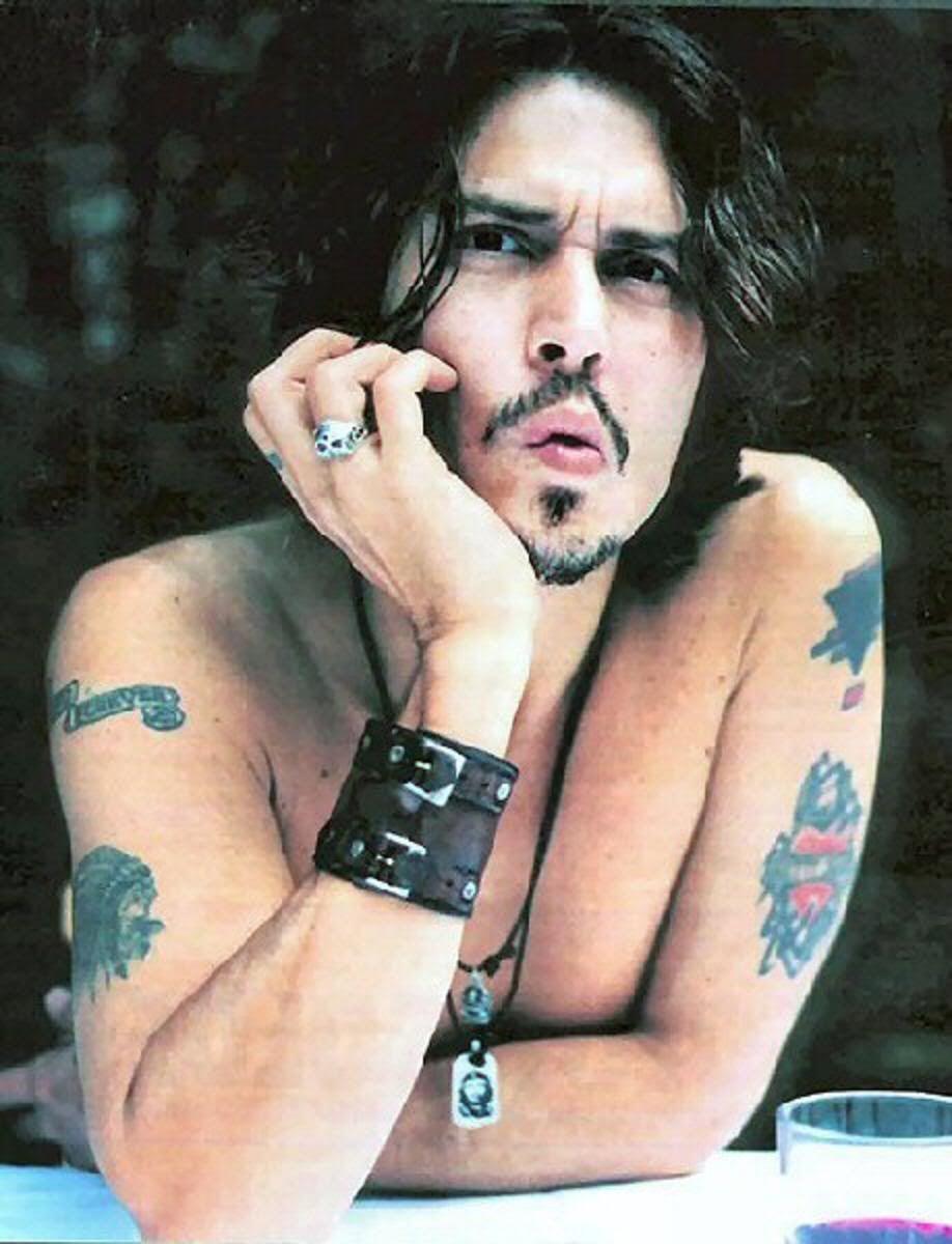 Tatouage De Johnny Depp Tous Ses Tatoos Johnny Depp Johnny