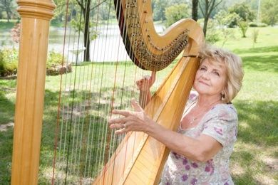Harp Music Le Jardin Studio